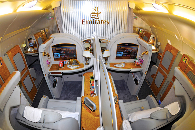 Miss everywhere emirates first class miss everywhere for Ba cabina di prima classe